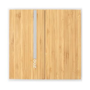 ZAO Bamboo Magnetic Case Large