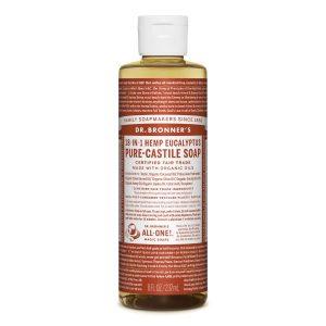 Dr Bronner Eucalyptus Pure Castile Liquid Soap