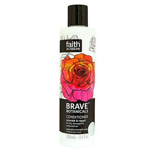 Faith In Nature Brave Botanicals Rose and Neroli Nourish and Repair Conditioner