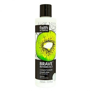 Faith In Nature Brave Botanicals Kiwi and Lime Smooth Shine Conditioner