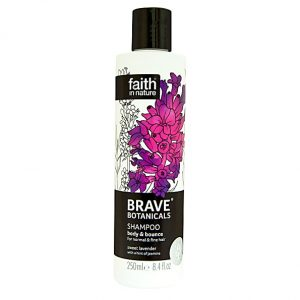Faith In Nature Brave Botanicals Lavender and Jasmine Body and Bounce Shampoo