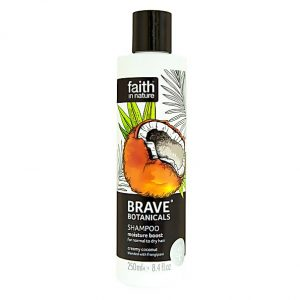 Faith In Nature Brave Botanicals Coconut and Frangipani Moisture Boost Shampoo