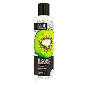 Faith In Nature Brave Botanicals Kiwi and Lime Smooth Shine Shampoo