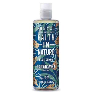 Faith In Nature Blue Cedar Body Wash for Men