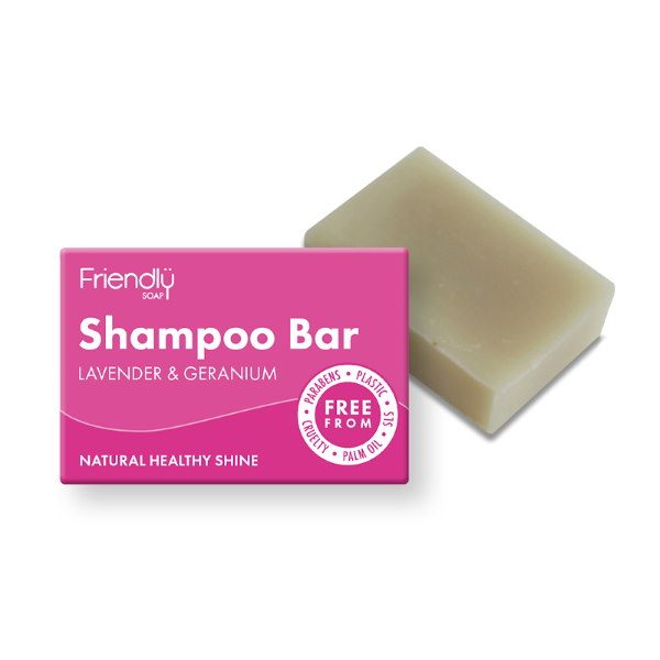 Friendly Soap Lavender and Geranium Shampoo Bar