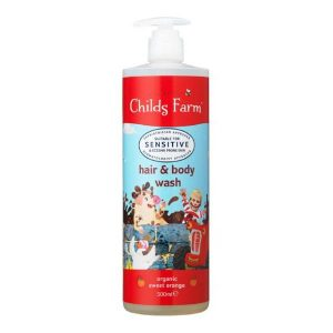 Childs Farm Organic Sweet Orange Hair Body Wash 500ml