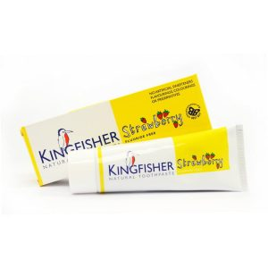 Kingfisher Strawberry Fluoride Free Childrens Toothpaste