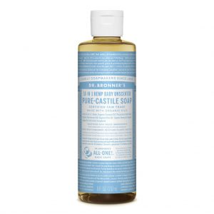 Dr Bronner Baby Unscented Pure-Castile Liquid Soap