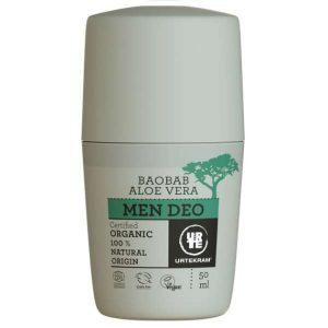 Urtekram Men Deo Baobab Aloe Vera Organic