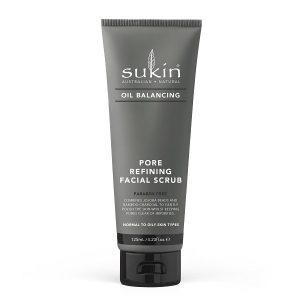 Sukin Oil Balancing Charcoal Pore Refining Facial Scrub