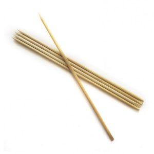 Orange Wood Sticks (Pack of 10)