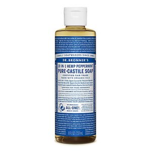 Peppermint Pure Castile Liquid Soap