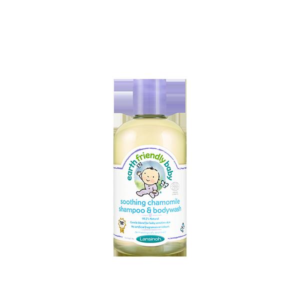 Earth Friendly Baby Soothing Chamomile Shampoo & Bodywash
