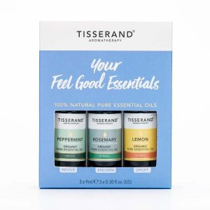 Tisserand your feel good essential oils