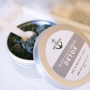 The Salt Parlour Black Clay & Vanilla DETOX
