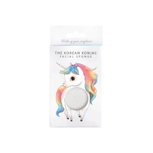 The Konjac Sponge Co Mythical Standing Unicorn Konjac Sponge & Hook