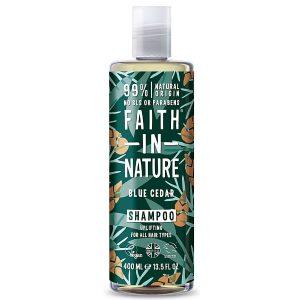 Faith In Nature Blue Cedar Shampoo for Men