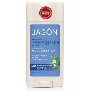 Jason Naturally Fresh Unscented For Men Deodorant Stick