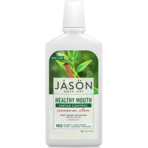 Jason Healthy Mouth Tartar Control Cinnamon Clove Mouthwash