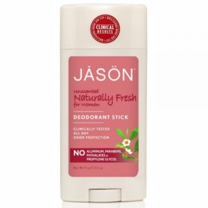 Jason Naturally Fresh Unscented Deodorant Stick