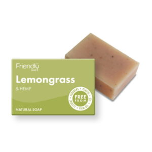 Friendly Soap Lemongrass & Hemp Soap