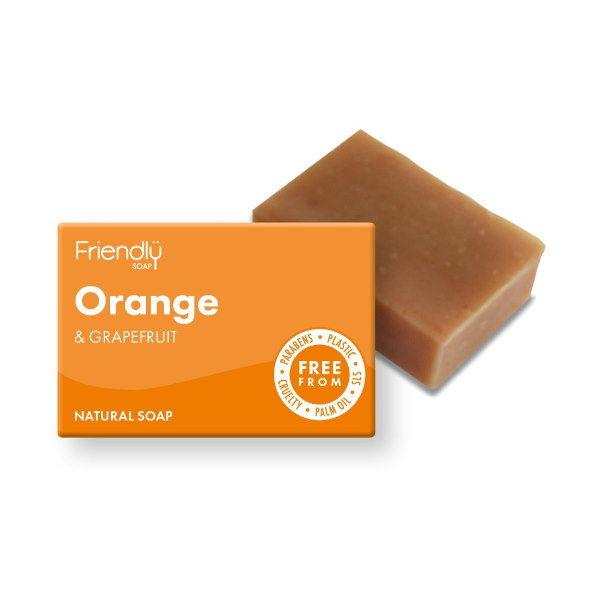 Friendly Soap Orange & Grapefruit Soap