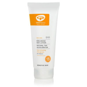 Green People Sun Lotion SPF15 with Tan Accelerator