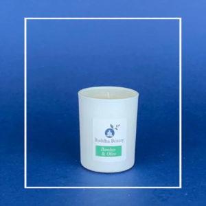 The Buddha Beauty Company Bamboo & Olive Room Candle
