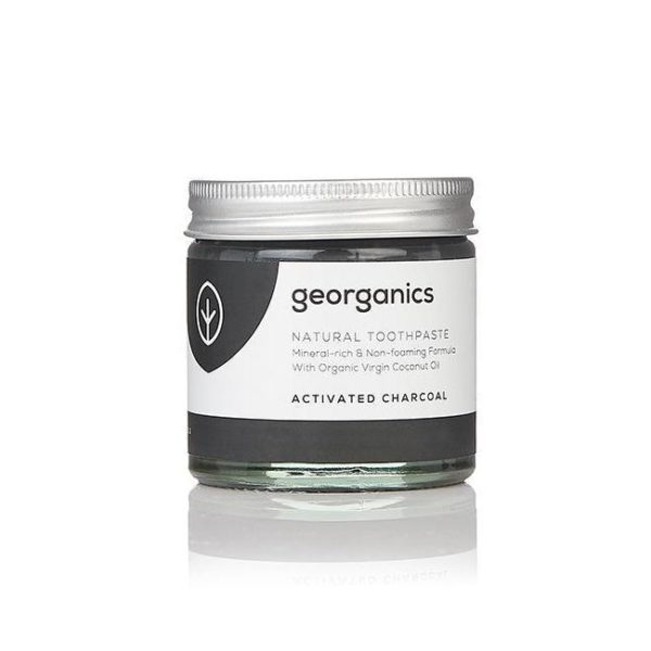 Georganics Natural Mineral Rich Activated Charcoal Toothpaste