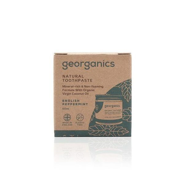 Georganics Natural Mineral Rich English Peppermint Toothpaste