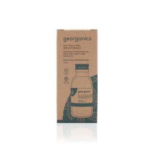 Georganics Oil Pulling English Peppermint Mouthwash