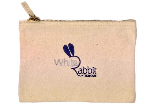 White Rabbit Skincare Travel Kit - Cosmetic Bag