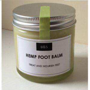Bain & Savon Hemp Foot Balm