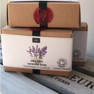 Bain & Savon Organic Lavender Soap