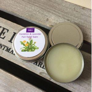 Bain & Savon Lavender Dandelion & Comfrey Pain Relief Balm