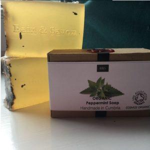 Bain & Savon Organic Peppermint Soap