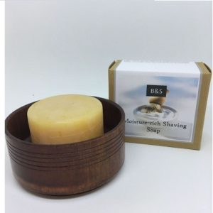Bain & Savon Moisture Rich Shaving Soap and Dish