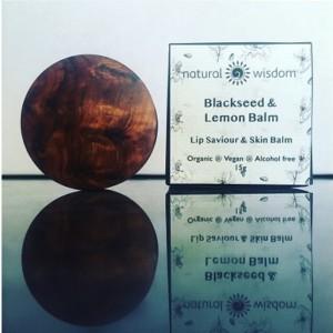 Natural Wisdom Organic Black Seed & Lemon Balm Lip Saviour