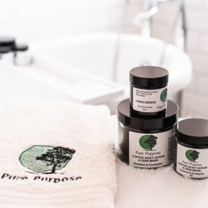 Pure Purpose Seaweed & Eucalyptus Coffee Body Scrub & Mask