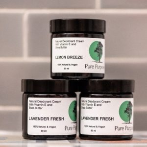 Pure Purpose Lavender Fresh Natural Deodorant Cream