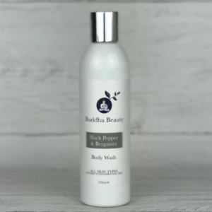 The Buddha Beauty Company Black Pepper and Bergamot Body Wash