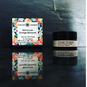 Natural Wisdom Orange Blossom Solid Perfume