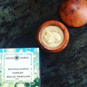 Natural Wisdom Sandalwood Forest Solid Perfume For Men