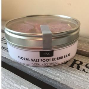 Bain & Peony Salt Scrub Foot Bars