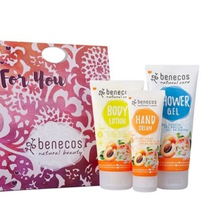 Benecos Apricot and Elderflower Body Care Gift Set