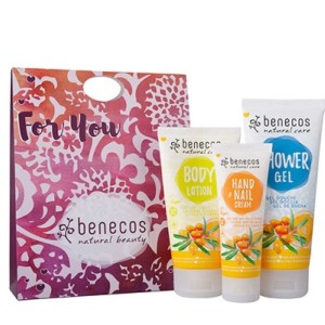 Benecos Sea Buckthorn and Orange Body Care Gift Set
