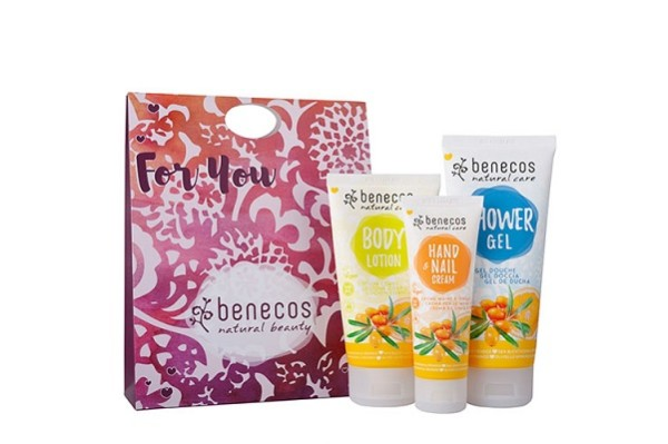 Benecos Sea Buckthorn and Orange Body Care Gift Set