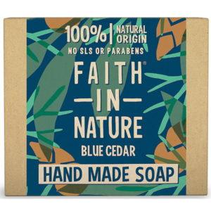 Faith In Nature Blue Cedar Soap For Men