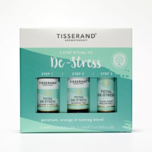 Tisserand 3 Step Ritual to De-Stress