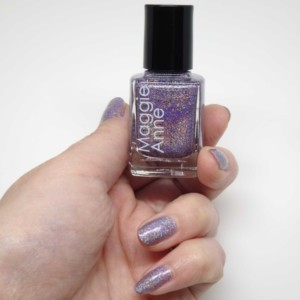 Maggie Anne Holographic Sparkles Nail polish Lindsay